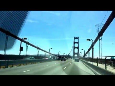 Biking the Golden Gate from San Francisco to Marin.  #PopularBiking #Traffic