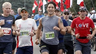 Trudeau joins thousands at Ottawa's Canada Army Run