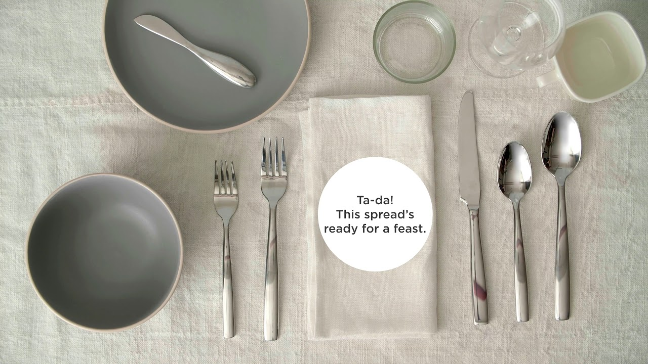 How To Set A Table 3 Ways The Home Depot