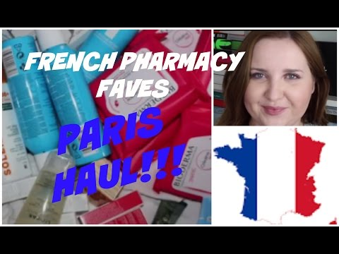 French Pharmacy faves! Paris HAUL!!!