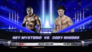 Download Video WWE'12 - King of the Ring tournament: Rey Mysterio vs Cody Rhodes HD (8/4 finals) MP3 3GP MP4
