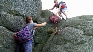 Northern Ireland rock climbing with Sticky Feet