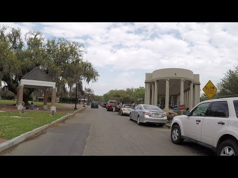 New Orleans Neighborhoods #9 - New Orleans City Park Part 1 - Southern Side
