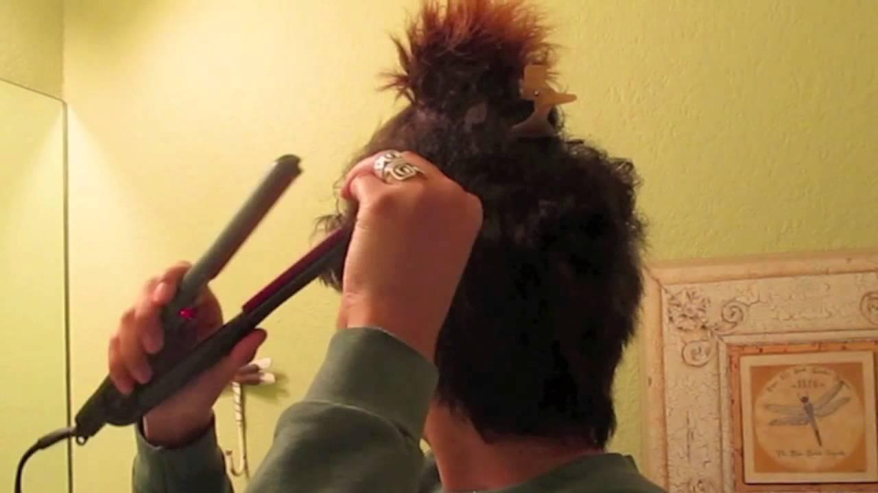 Hair How To Straighten A Pixie Cut Hair Styles Using