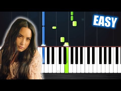 Clean Bandit - Solo feat. Demi Lovato - EASY Piano Tutorial by PlutaX