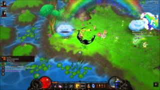 diablo 3 cow level and how to get to it spoiler alert