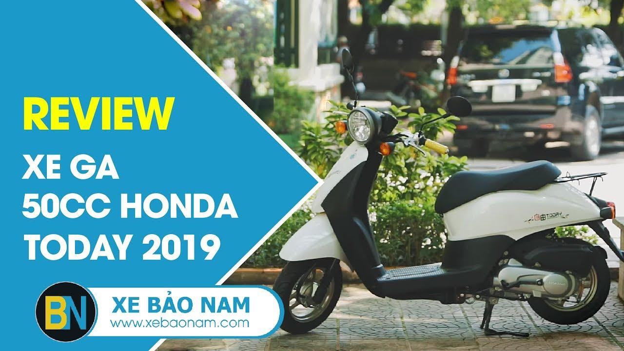 Đánh giá Xe ga 50cc Honda Today 2018 ► Công nghệ FI + Tiêu chuẩn Euro 3 tái tạo Xăng