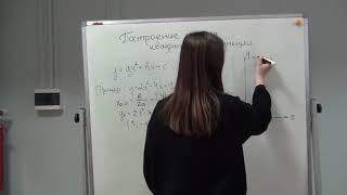 Видеоурок по построению графиков функции