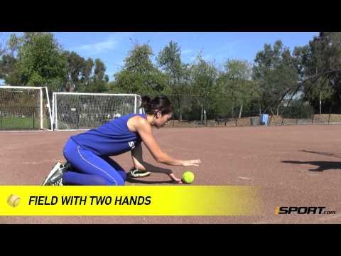 Softball Fielding Drills: Triangles