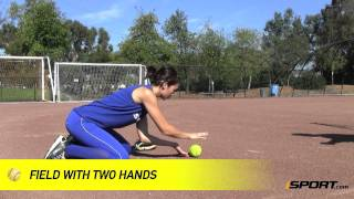 softball fielding drills triangles