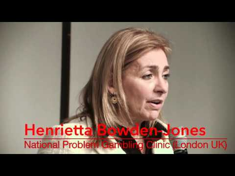 SPECIALE SOPSI 2016: Henrietta Bowden Jones, Gambling Addiction Neurobiological Substrates
