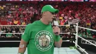 John Cena  RAW 16.04.2012.русская озвучка от 545TV