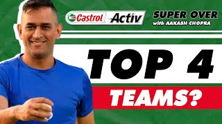 TOP 4 teams to QUALIFY for PLAYOFFS?   Castrol Activ #AskAakash   Cricket Q&A