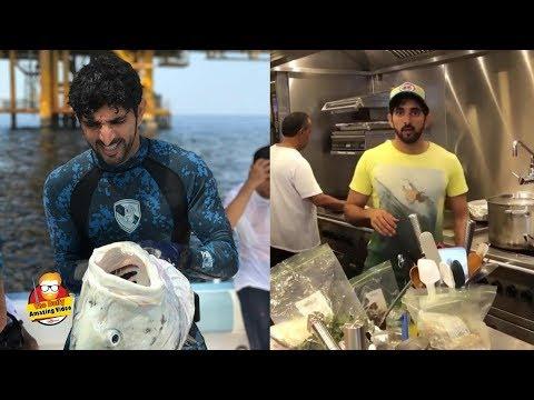 Sheikh Hamdan Spending A Day Fishing In DUBAI 2018 Spear Fishing
