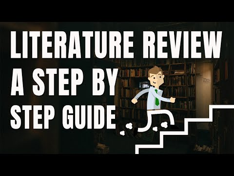 Writing A Literature Review Step By Step