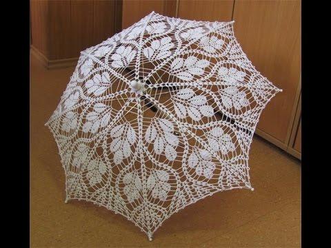 Красивые ажурные зонтики