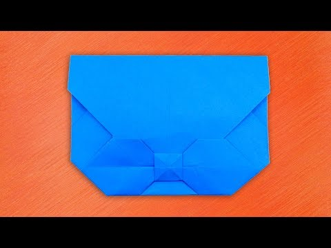 Easy Origami Bow Envelope Tutorial || How To Make a Paper Bow Envelope DIY