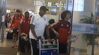 Đội Tuyển UAE đổ bộ xuống Nội Bài
