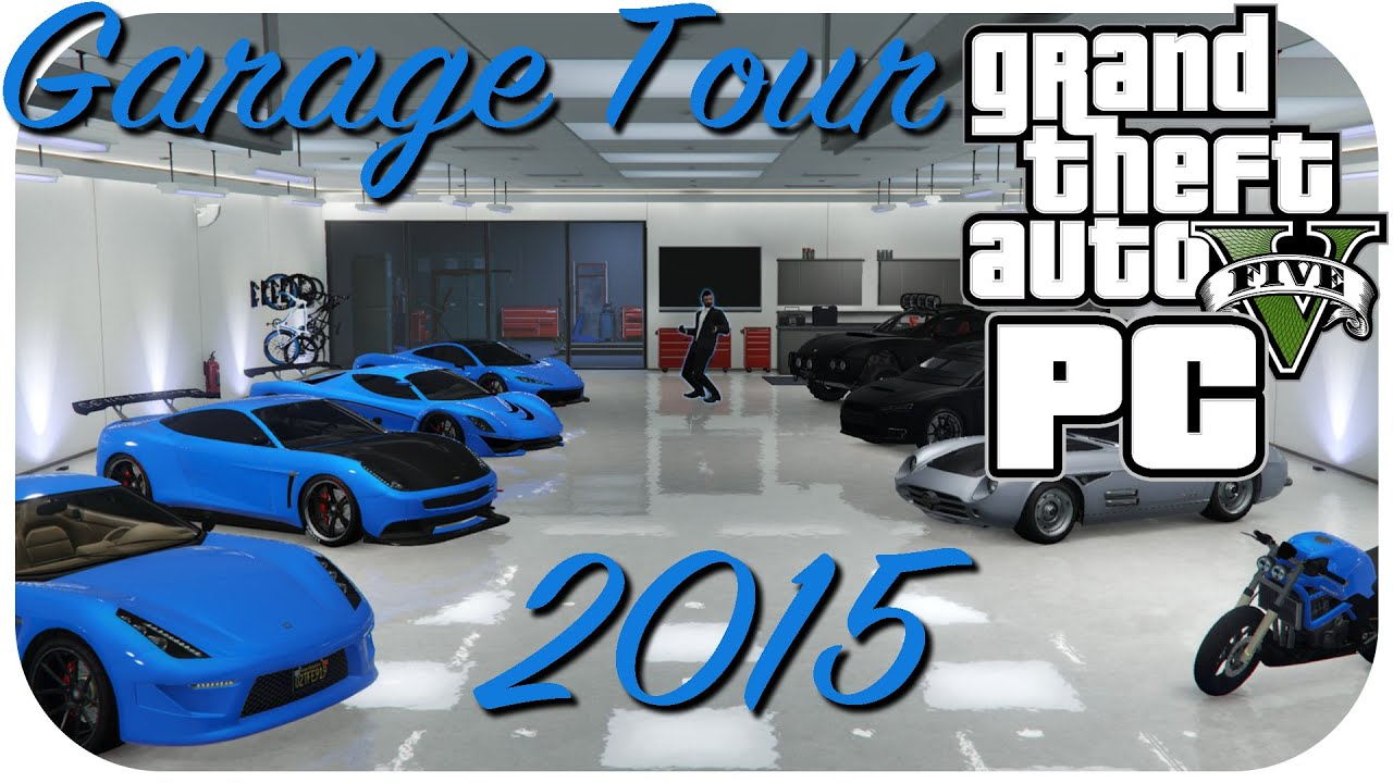 Innovative GTA Online Garage Tour Montage 2015 Part 1  Showcase Of