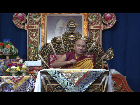 8 Verses on Mind Training teaching at the Tibetan Canadian Cultural Center