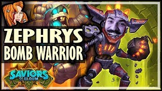 ZEPHRYS CARRIES THIS BOMB WARRIOR! - Saviors of Uldum Hearthstone