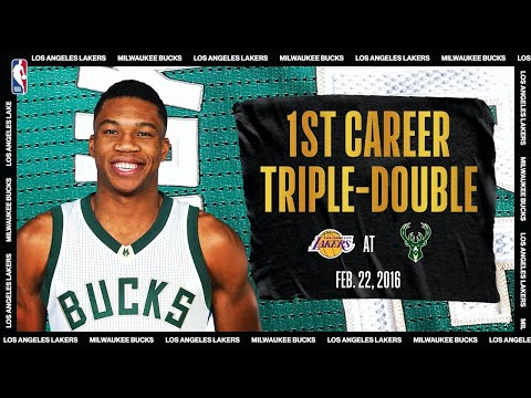 Giannis' 1st Career Triple-Double | #NBATogetherLive Classic Game