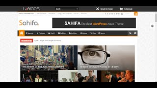 How to setup Sahifa theme into your wordpress