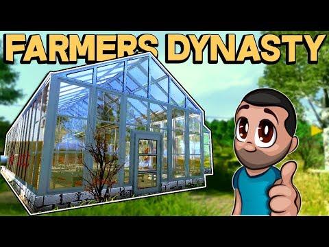 FARMER INHERITS RUN DOWN FARM! Farmer's Dynasty Game Update 2018