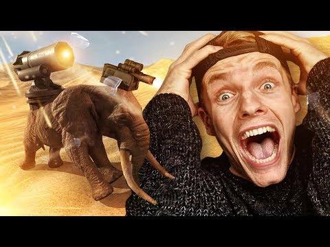 MET DEZE OLIFANT MOET IK VECHTEN! - Beast Battle Simulator #1