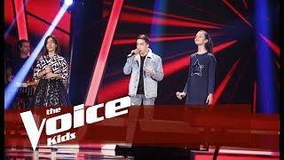 Iris vs Petro vs Vesa - Bella Ciao Betejat The Voice Kids Albania 2019