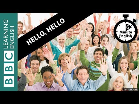 Learn the history of 'hello' in 6 minutes!