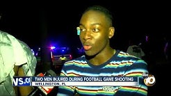 Two men injured during football game shooting, Wellington Florida