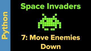 Python Game Programming Tutorial: Space Invaders 7