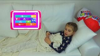 ИЛОНА ЗАБОЛЕЛА/ДОКТОР ПОДАРИЛ Илоне ПЛАНШЕТ/Видео планшета для принцесс Turbokids Princess