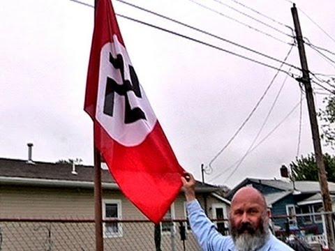 New Jersey Man Hangs Nazi Flag For Hitler's Birthday