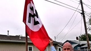 New Jersey man hangs Nazi flag for Hitler's birthday