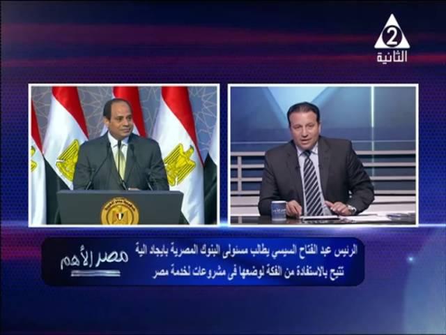 تعليق د/يسري الشرقاوي علي خطاب الرئيس السيسي بالاسكندرية