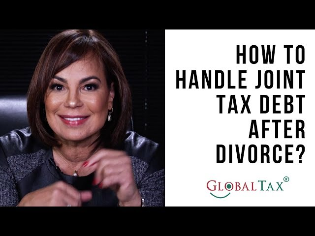 How to Handle Joint Tax Debt After Divorce?