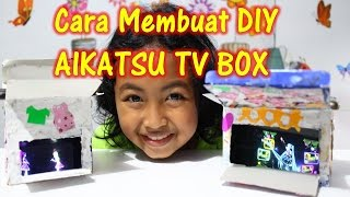 DIY 3D Aikatsu  TV Box Hakovision | Tutorial dan Cara Membuat 3D Projector TV Box