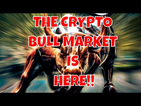 THE BEGINNING OF THE CRYPTO BULL MARKET   BUT ARE YOU READY?  