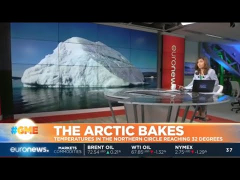The Arctic Bakes: Temperatures in the Arctic Circle reaching