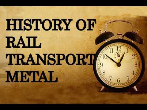 History of rail transport,metal