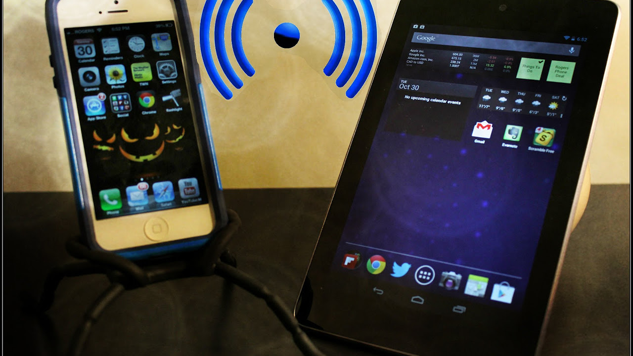 How To Use Personal HotSpot iPhone - Tether Your iPhone 5