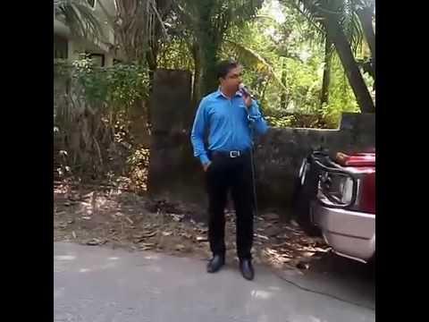Pastor SIJU SCARIA,OPEN AIR MEETTING