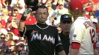 Ichiro passes Ty Cobb with his 4,192nd hit