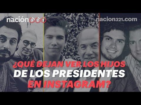 ¿Qué dejan ver los hijos de los Presidentes en Instagram?