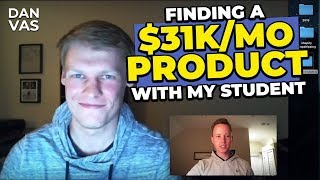 How I Found A $31,000 Per Month Product On Amazon FBA With My Student!