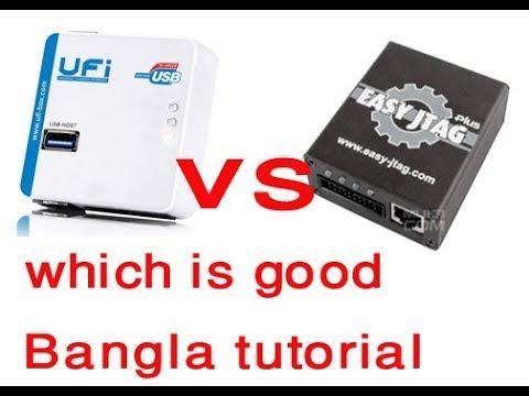 UFI BOX VS EASY JTAG PLUS bangla tutorial/which is better?2019