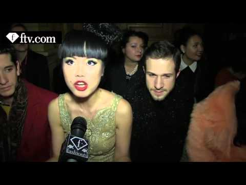 Tony Ward Front Row Paris Couture Fashion Week FashionTV