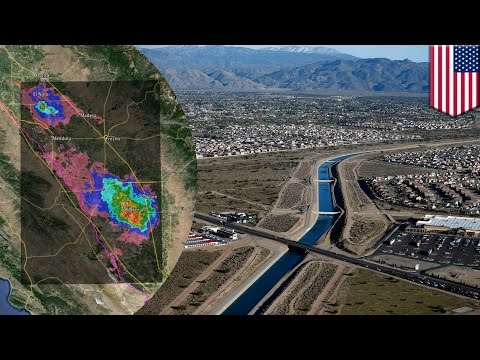 California's Joaquin Valley sinking by up to 2 inches each month, says NASA